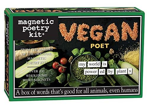 Vegan Word Poetry Magnetic Kit