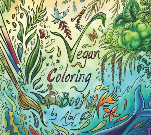 Vegan Adult Coloring Books