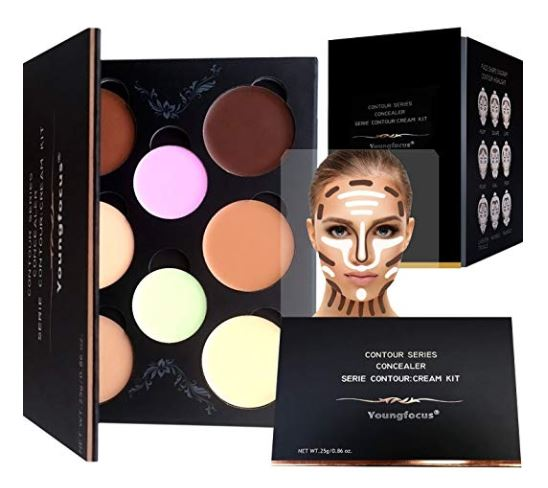 Highlighting Makeup Kit/Concealer Palette - Vegan, Cruelty-Free and Hypoallergenic