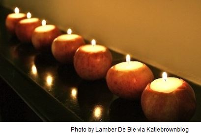 Apple Candle Holders: Many Ways to Use Apples (15 Apple Fruit Uses & Recipe Ideas)