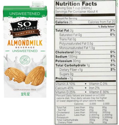 So Delicious Almond Milk Review