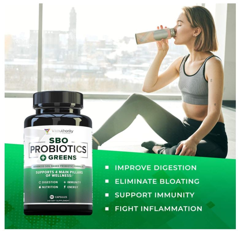 Vitauthority's SBO Vegan Probiotics + Greens Review